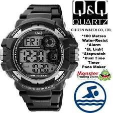 AUSSIE SELLER GENTS DIGITAL WATCH CITIZEN MADE M143J002 100M RP$99.95 WARRANTY