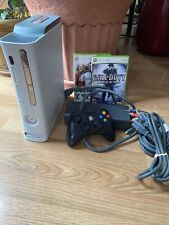 New listing Microsoft Xbox 360 System Console - Matte White With Controller Games