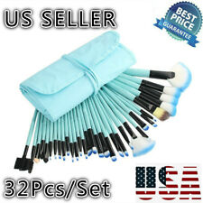 32Pcs/Set Makeup Brushes Tools Cosmetic Pencil Brush With Free Blue Pouch Bag