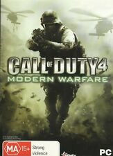 Pc Game- Call of Duty 4 - Modern Warfare (Disc, Manual & Cover Art Only-No Case)