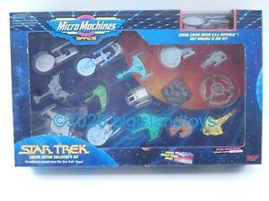 Star Trek Micro Machines Collectors Set 1 I Classic DS-9 TNG And Excl NCC-1701-A