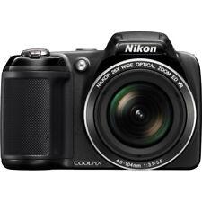 Nikon COOLPIX L320 16MP 720p HD Video Black Digital Camera - Factory Refurbished