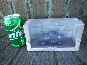 Atlas Edition Die-cast WWII German Armored Scout Car SdKfz 222