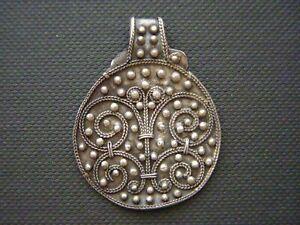 Viking Silver Pendant with Filigree. 9th-10th century AD.