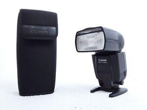 Canon Speedlite 580EX II Shoe Mount Flash and Case Very Good Condition Working
