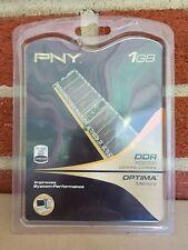Pny 1Gb Ddr Pc2700 / 333Mhz / 266Mhz Optima Memory Ram Improves Computer Laptop