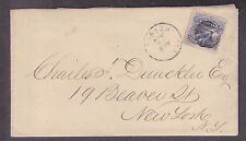 US 114 on cover from Boston w/letter re: Davy Crockett Whiskey & Tax Penalties