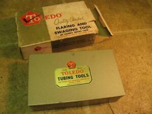 Toledo 757F Flaring And Swaging Tool Set Tube Copper Brass Aluminum