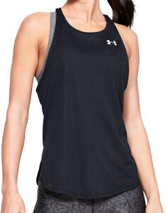 Under Armour Speed Stride Womens Running Vest Tank Top - Black