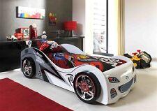 """Vipack: Autobett """"BRAP BRAP"""" 90 x 200 mit Lattenrost - Kinderbett Jugendbett"""