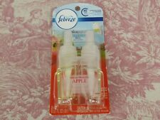Febreze Noticeables Dual Scented Oil Refills Fresh-Pressed Apple