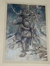 1908 ARTHUR RACKHAM A MIDSUMMER NIGHTS DREAM SHAKESPEARE 30 COLOUR PLATES by