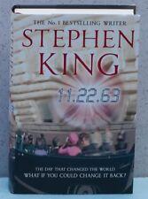 11 22 63 by Stephen King UK British 1st Edition Kennedy Assassination Hulu