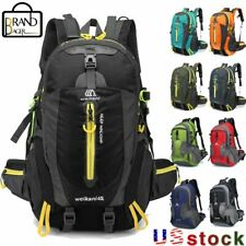 40L Outdoor Waterproof Camping Hiking Backpack Sport Travel Trekking Rucksack US