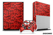 Designer Skin for XBOX ONE S 1S Gaming Console+2 Controller Sticker Decal DIGICO