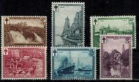 Timbres de Belgique / Belgium ref COB N° 293 --> 298  Neuf **,  MNH