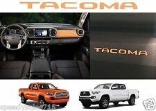 Caramel Brown Glove Box VINYL Dashboard Letters 2016-2017 Toyota Tacoma New