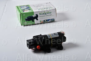 SINGFLO 12V 1.2 GPM 35 PSI Water Pressure Pump Marine RV Boat Camper