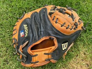 Wilson A2000 Catchers Mit MLB Pro Stock Left Hand-Right Hand Thrower