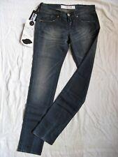 TAKE TWO Damen Blue Jeans Stretch W28/L34 xtra low waist slim fit straight leg