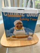 Baking Time Cookie Jar by Clay Art, in box #8824 collectible