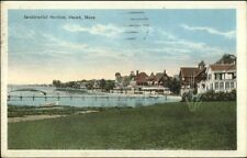 Onset Cape Cod MA Residdential Section c1920 Postcard