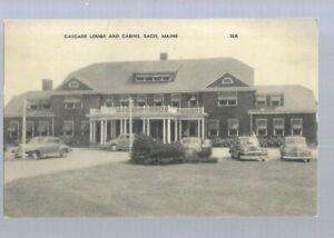 pk60291:Postcard-Cascade Lodge and Cabins,Saco,Maine