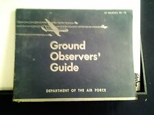 AIR FORCE AIRCRAFT  RECOGNITION FOR GROUND OBSERVER