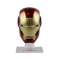 Avengers Hero Iron Man Head Mark Helmet Auto Toy Accessories Ornament For Figure