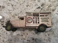 Metalcraft Pressed Steel Delivery Truck Heinz 57 Original 1930s