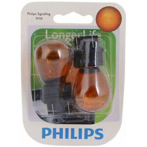 Philips Front Inner Turn Signal Light Bulb for Ford C-Max Transit tn