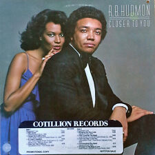 R.B. HUDMON - CLOSER TO YOU - COTILLION - 1978 LP + TIMING STRIP
