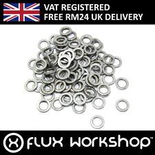 100pcs 5x8x1mm Shim Aluminium Spacer CNC Mounting Coupling Flux Workshop