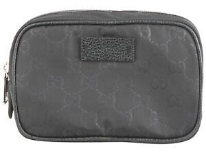 Gucci Damen Handtasche Kosmetiktasche Beauty Case Tasche Bag Schwarz Black