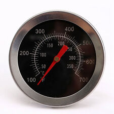 Stainless Steel Bbq Accessories Grill Meat Thermometer Dial Temperature Gauge Us
