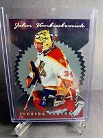 1996-97 Donruss Elite Diecut Stars Bade Parallel #74 John Vanbiesbrouck Florida