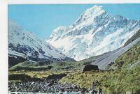 Mt Cook From Hooker River New Zealand Postcard 456a