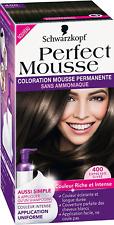 Schwarzkopf Perfect Mousse - Coloration Permanente - Expresso Givré 400