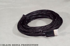 HDMI Kabel 1.4a 3m - High Speed with Ethernet, ACR+HEC, 3D, 4K - Nylonmantel