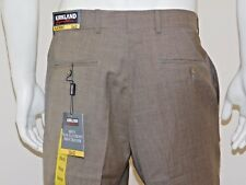Kirkland Signature Men's gabardine 100% Wool Flat Front Dress Pant 4 sizes BNWT