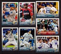 2015 Topps KANSAS CITY ROYALS Team Set Series 1 & 2 with updates 38 cards