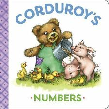 CORDUROY'S NUMBERS - SCOTT, MARYJO/ MCCUE, LISA (ILT) - NEW BOOK