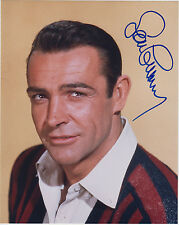 Sean Connery movie star 26cm x 20cm signed photograph & authenticity certificate