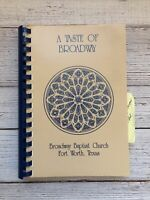 Vintage Broadway Baptist Church of Fort Worth Texas Cookbook Recipes 1990's Wife