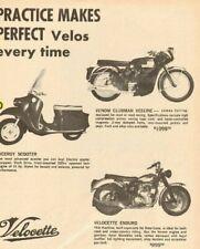 1964 Velocette Viceroy Scooter, Venom Clubman Veeline & Velocette Enduro Ad