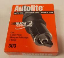Lot / Box of 4 New Autolite Copper Core Spark Plugs 303