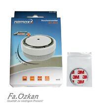 1-25x Nemaxx Mini Design Rauchmelder VdS 5 Jahres Batterie mit/ohne Magnetpad 3M