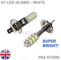 2x H1 26-SMD LED 5050 Xenon White - Fog Lights - Daytime Running Lights - UK