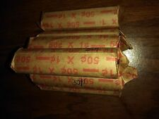 Canadian roll of pennies