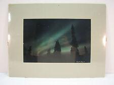 Aurora Borealis And Ursa Major Signed Photograph By Carl R Sams II AUA